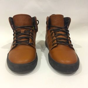 Globe Los Angered Leather Ankle Boots Size 5